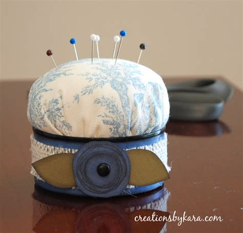 how to make a pin cusion how to make a pin cushion from a recycled can