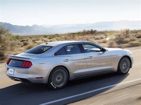 Four Door Sedan by 4 Door 2015 Mustang Study Amcarguide American