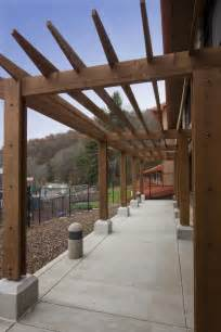 3 Post Pergola by The Post And Beam Hand Crafted Timber Frames By Vermont