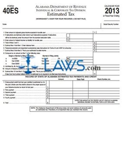 printable quarterly tax vouchers form es 40 indiana download pdf