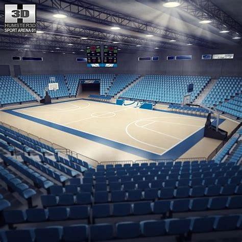 basketball arena 3d model basketball arena cgtrader