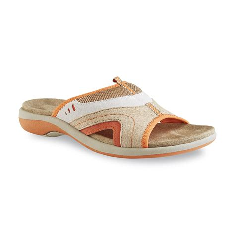 athletes footwear shoes athletech s beverlee orange athletic sandal