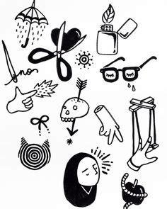 simple tattoo flash stick and poke buscar con google pinteres