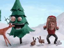 animated santa sleigh gifs tenor
