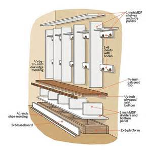 House Plans With Mudrooms open lockers design details 35 stylish ideas for