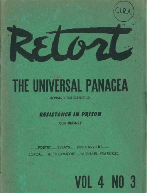 The Of Pdf Alex Comfort by Retort Vol 4 No 3 Winter 1949