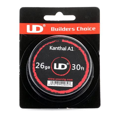 Kawat Vandy Vape Khantal A1 22 Awg 24awg authentic youde ud kanthal a1 26 awg resistance wire for rba 0 4mm diameter