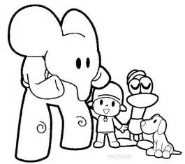 printable coloring book pages printable pocoyo coloring pages for cool2bkids