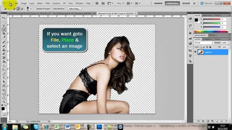 photoshop tutorial complete pdf remove background cut out image photoshop tutorial