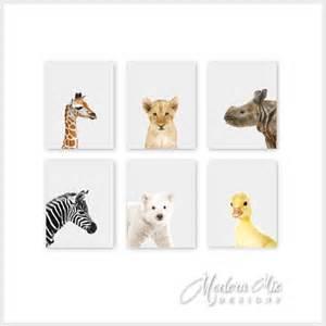 Animal Nursery Decor Animal Nursery Prints Animal Nursery Decor Baby Nursery Print