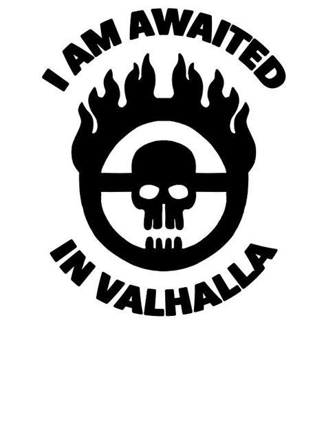 Mad Max - Warboy Skull Wheel - 'I Am Awaited In Valhalla