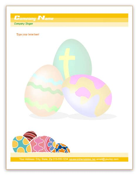 easter templates for word microsoft word templates free letterhead templates