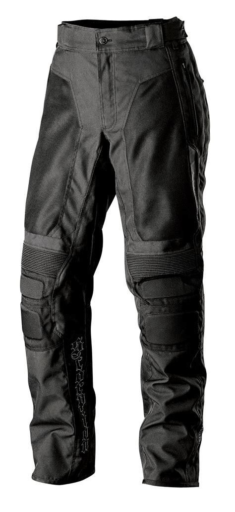 motorcycle riding pants scorpion exowear deuce textile motorcycle riding pants black