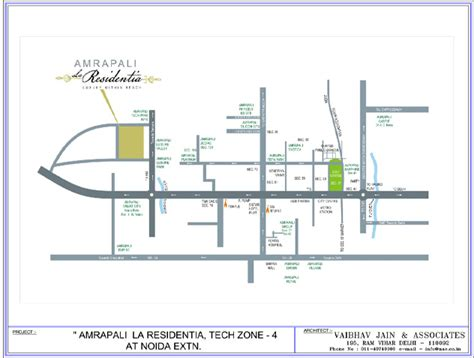 Floor Plan by Amrapali La Residency Key Plans Amrapali Group Noida