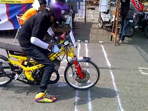 Dod Bebek Peking Jatim drag sport 2tak rangka standard 150cc race