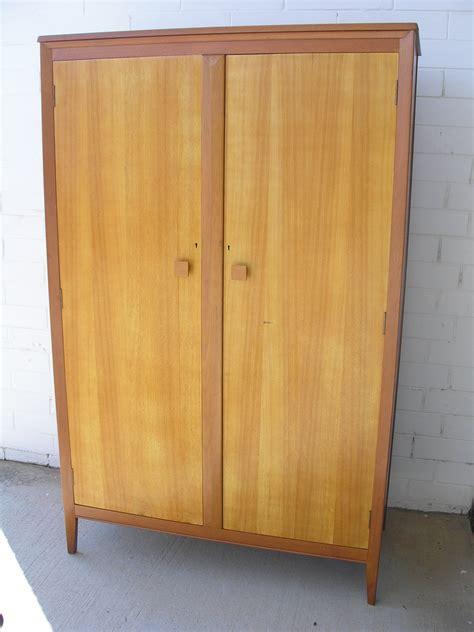 Silky Oak Wardrobe by Sold Jet Age