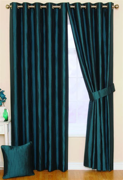 Teal Curtains Ready Made Curtains Woodyatt Curtains