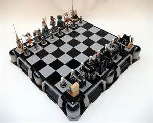 Coolest Chess Sets Star Wars A New Hope Lego Chess Set 171 Construction Toys