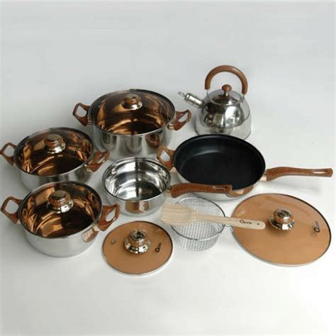 1 Set Oxone Eco Cookware perabotan rumah tangga cookware series