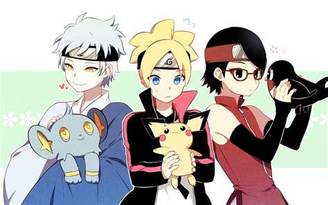 N Anime Boruto 64 by Mitsuki Boruto And Sarada Anime Amino