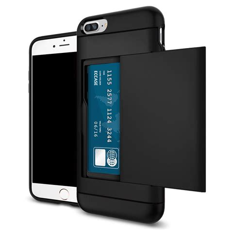 hardcase i pocket iphone 6 shockproof wallet credit card pocket holder back