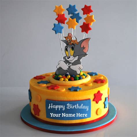 tom and jerry name write your name on brithday cakes pictures editing