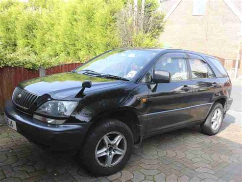 toyota jeep black lexus 1997 toyota harrier rx300 black jeep 4x4 petrol