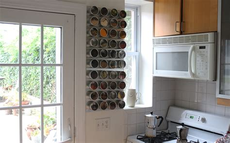 66 square plus how to make a magnetic spice rack