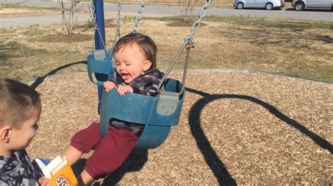 First Time Swinging Caden James Pinterest First Time