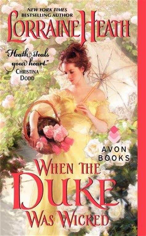 Paket Novel By Lorraine Heath when the duke was scandalous gentlemen of st 1 by lorraine heath reviews