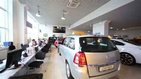 Car Office by Russia Moscow Aug 28 2012 Review With Clients