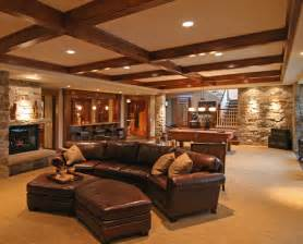 Basement Homes by Interior Photos Of Brilliant Furnished Basements
