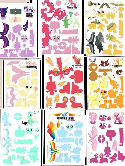My Pony Paper Crafts - my pony papercraft paper papercraft