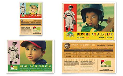 Baseball Sports C Flyer Ad Template Word Publisher Sports Program Template Microsoft Word