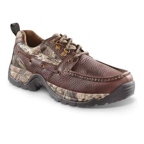 mens rugged shoes guide gear s rugged moc shoes waterproof 658570 casual shoes at sportsman s guide