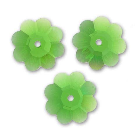 fiore swarovski fiore swarovski mm 8 fern green x1 swarovski perles co