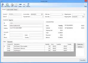 Excel Invoice Template With Database by Invoice Software Net