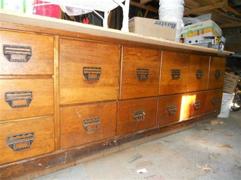 kijiji kitchen island antique oak seed grain bean counter from a general