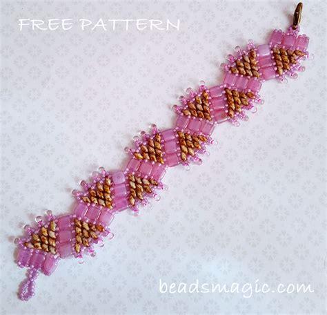 Tutorial Beading beaded bracelets patterns and www imgkid