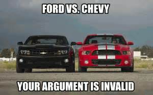 Which Is Better Chevy Or Ford Ford Vs Chevy Jokes Kappit