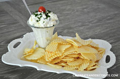 the best chip dip ever celebrate decorate