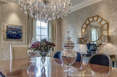 Striped Dining Room Chairs by Luxury Dining Room Traditional Dining Room