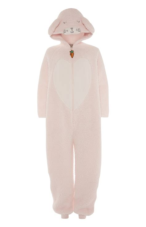 comfortable onesie an attractive and comfortable pink bunny onesie for