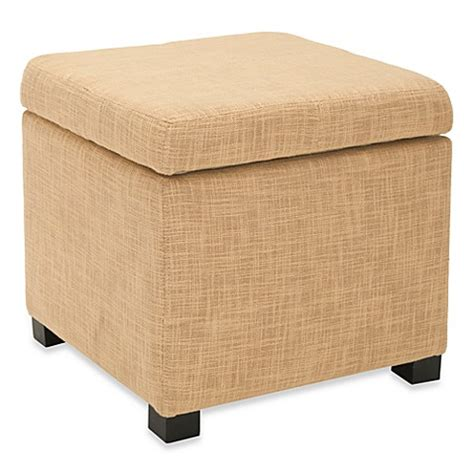buy safavieh ottomans from bed bath beyond buy safavieh square ottoman in gold from bed bath beyond