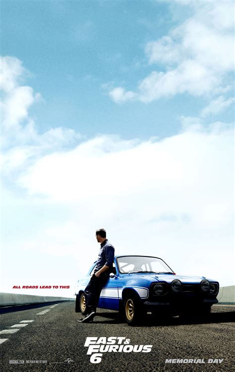 fast and furious on paul walker fast and furious 6 2013 poster hq paul walker fast