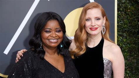 octavia spencer jessica chastain comedy chastain and spencer reunite for christmas comedy
