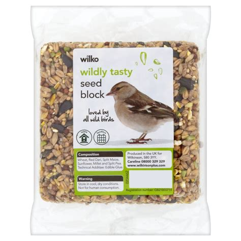 wilko wild bird seed block at wilko com