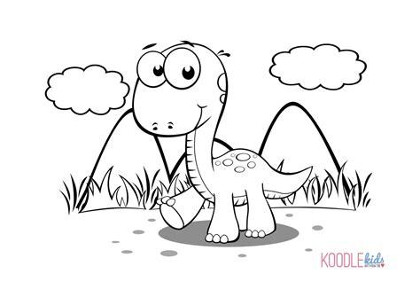 dinosaur coloring page pdf disegni da colorare dei dinosauri cucciolo di dinosauro