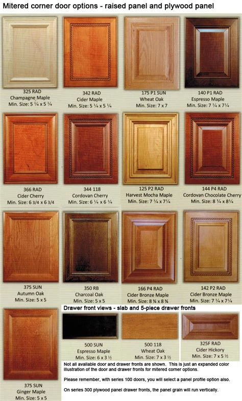 custom wood cabinet doors mitered corner custom wood cabinet doors eclectic ware