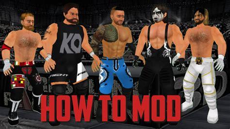 download mod game wrestling revolution 3d how to mod wrestling revolution 3d ios tutorial youtube